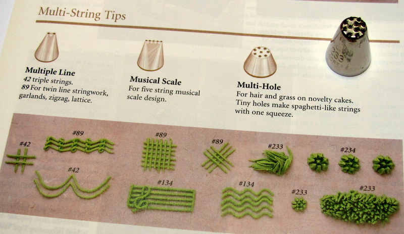 What Cake Decorating Tip Do You Use To Make Grass ...